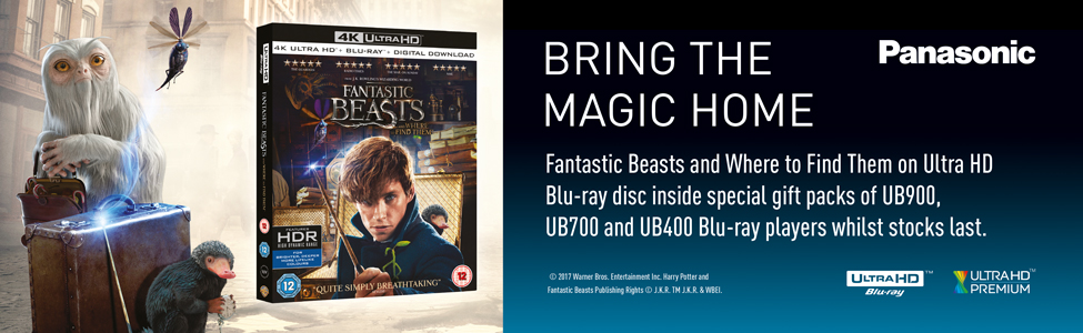 Bring The Magic Home -  Free Fantastic Beasts Ultra Blu-ray Disc Offer